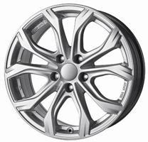 Колесный диск Rial W10 7.5x17/5x112 D66.5 ET45 sterling-silver