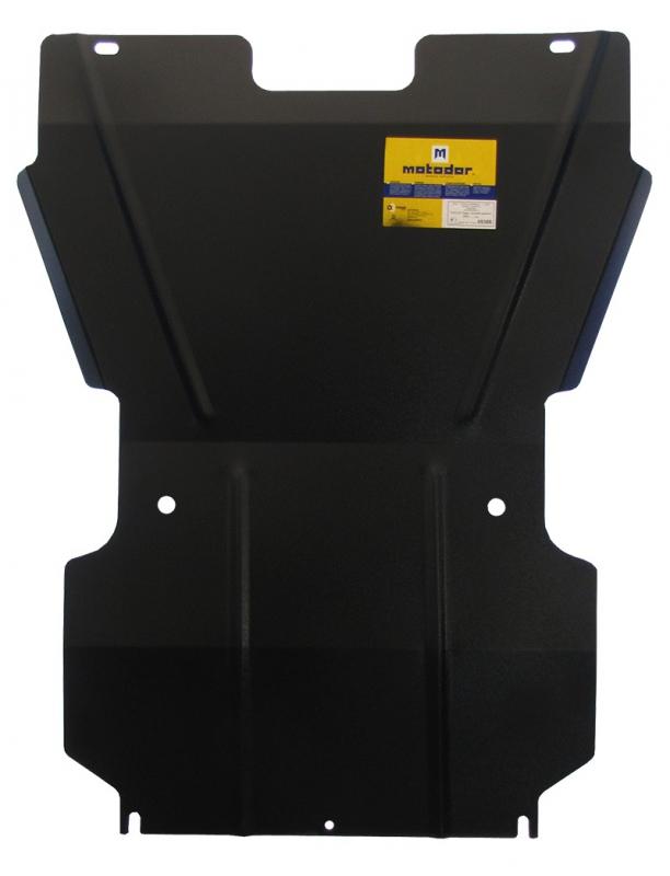 Защита картера двигателя, КПП Tagaz Tager 2008- V=2,3 (сталь 2 мм), MOTODOR05306