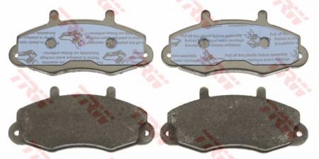 Колодки дисковые Передние, TRW, GDB1084