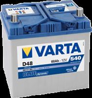 АКБ VARTA BLUE dynamic 12V D48 60Ah 540A (D232 x d173 x h225)