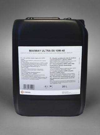 Моторное масло STATOIL MaxWay Ultra E6, 10W-40, 20л, 1001037