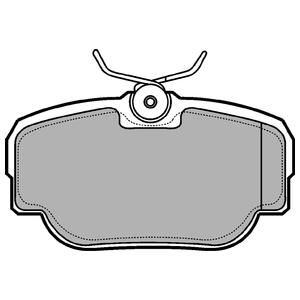 Колодки дисковые, DELPHI, LP914