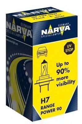 Лампа 12 В, 55 Вт, H7, PX26d, NARVA, 48047