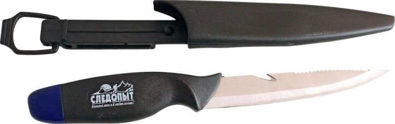 Нож разделочный Следопыт нетонущий, дл. клинка 135 мм, в чехле, PFPK02