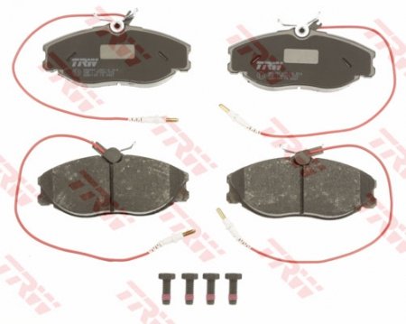 Колодки дисковые Передние, TRW, GDB1194