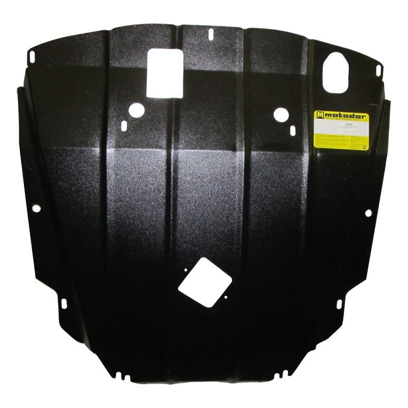 Защита картера двигателя, КПП, ремня генератора Chevrolet Captiva 2012- Opel Antara 2012- V=2,2TD (с