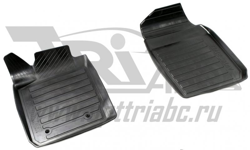 Коврики салона резиновые с бортиком для Ford Fiesta (2008 -) (2 передних), ADRAVG1312
