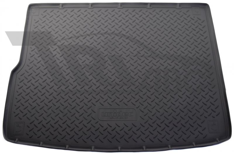 Коврик багажника для Volkswagen Touareg (Туарег) (2010-) (4-х зонный климат контроль), NPLP9557