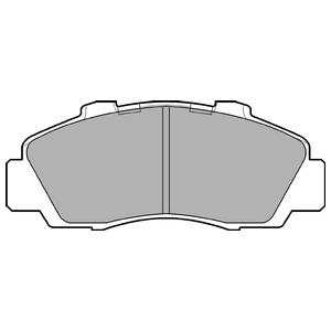 Колодки дисковые, DELPHI, LP872