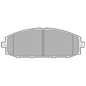 Колодки дисковые, DELPHI, LP1305