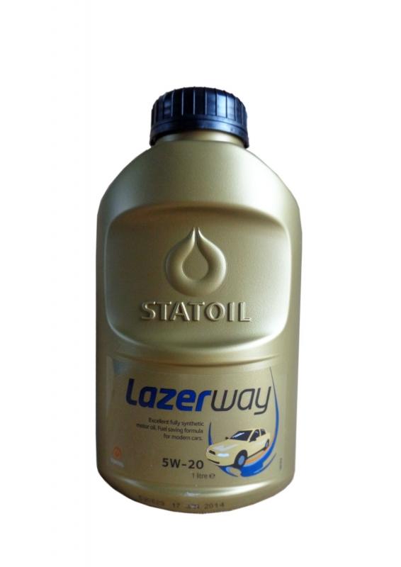 Моторное масло STATOIL LAZERWAY, 5W-20, 1л, 1000845