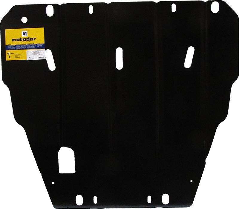 Защита картера двигателя, КПП Citroen Xsara Picasso (N68) 1999-2006 V= все (сталь 2 мм), MOTODOR0040