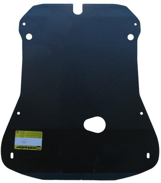 Защита картера двигателя, КПП VW Crafter 2006- V=2,0 TDi (сталь 3 мм), MOTODOR12715