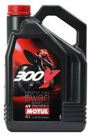 Масло моторное MOTUL 300V 4T Factory Line Road Racing, 5W-30, 4л, 104111