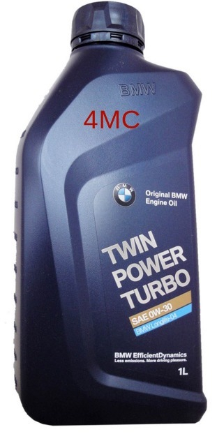 Моторное масло BMW Twin Power Turbo, 0W-30, 1л, 83212365929