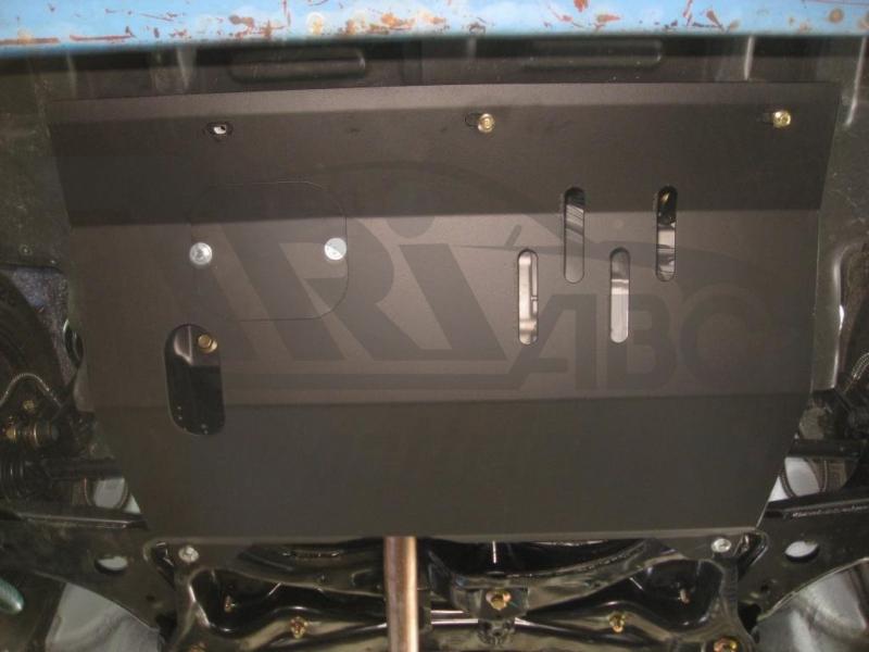 Защита картера двигателя и кпп Lifan Х50 V-1,5 (2015-) (Сталь 2 мм), 15855C2