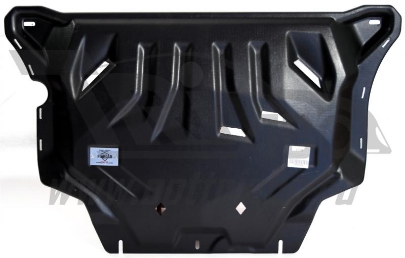 Защита картера двигателя и кпп Audi (Ауди) A3 (13-)/VW Golf (Гольф) VII/Seat Leon V-все(13-)/Octavia