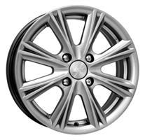 Колесный диск Кик Аттика 6x15/4x100 D67.1 ET45 black platinum