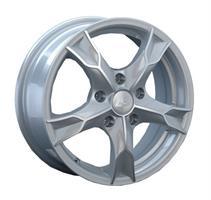 Колесный диск LS Wheels LS 112 6x15/5x100 D72.6 ET55 серебристый полированный (FSF)