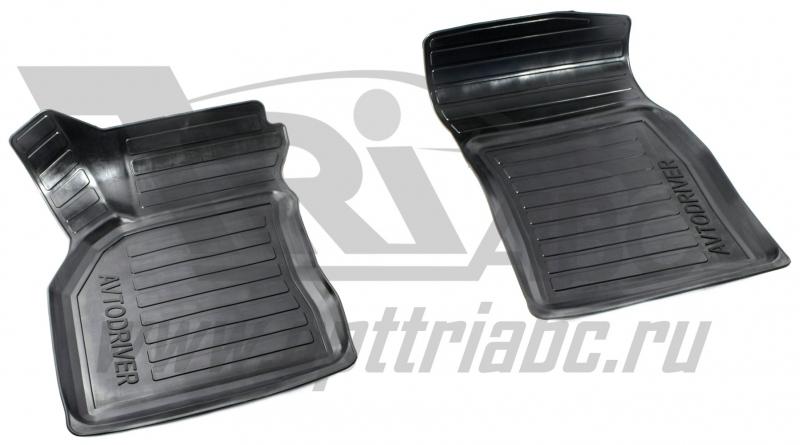 Коврики салона резиновые с бортиком для Renault Megane (2010-) (2 передних), ADRAVG2082