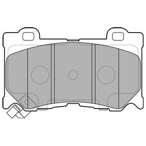 Колодки дисковые, DELPHI, LP2156