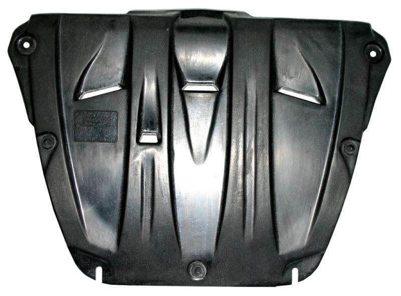 Защита картера двигателя и кпп Honda (Хонда) Pilot V-3,5 (2008-) (Композит 6 мм), 0906K