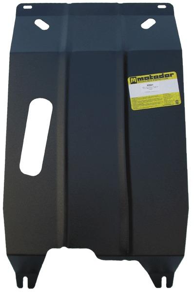 Защита картера двигателя, КПП Daewoo Nexia 1995- V=1,5i,1,6i (сталь 2 мм), MOTODOR60501