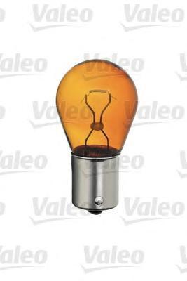 Лампа, 12 В, 21 Вт, PY21W, BAU15s, VALEO, 032 108