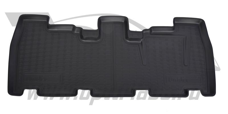Коврики салона для Nissan Pathfinder (Ниссан Патфайндер) (2004-2014) (3 ряд), NPA00C61451