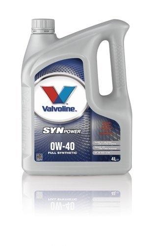 Моторное масло VALVOLINE SynPower, 0W-40, 4л, VE11227