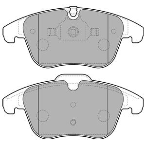Колодки дисковые, DELPHI, LP2165