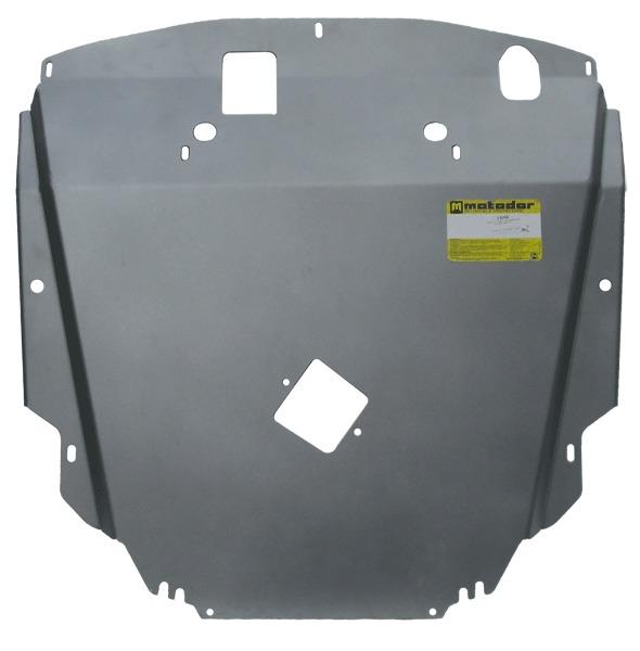 Защита картера двигателя, КПП CHEVROLET CAPTIVA 2011-2014-2014- V=2,2TD (алюминий 5 мм), MOTODOR3300