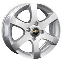Колесный диск Ls Replica GM33 6x16/4x114,3 D56.6 ET49 серебристый (S)