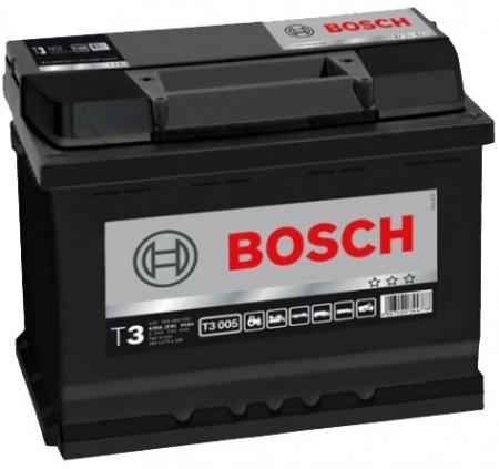 Аккумуляторная батарея Bosch T3, 12 В, 56 А/ч, 420 А, 0092T30050