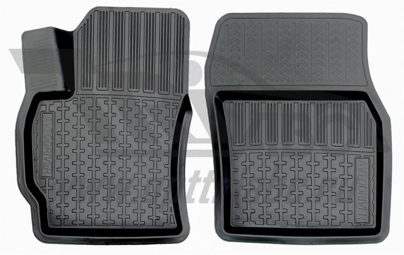 Коврики салона резиновые с бортиком для Toyota Auris (2006-2012) (2 передних), ADRPRO0342