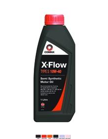 Моторное масло COMMA 10W40 X-FLOW TYPE S, 1л, XFS1L