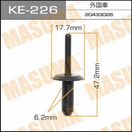 Клипса автомобильная (автокрепеж) MASUMA, KE226