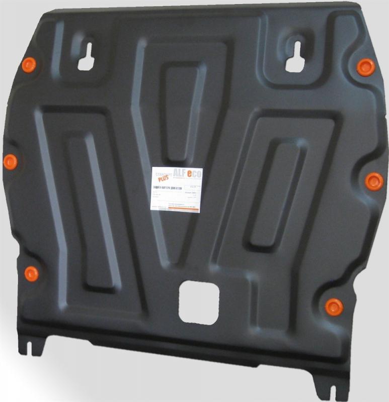 Защита картера двигателя и кпп Nissan Juke (V-1.6, 2011-) штамп. (Сталь 1,8 мм), 07722C2