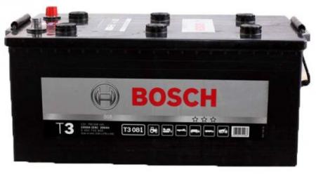 Аккумуляторная батарея Bosch T3, 12 В, 220 А/ч, 1150 А, 0092T30810