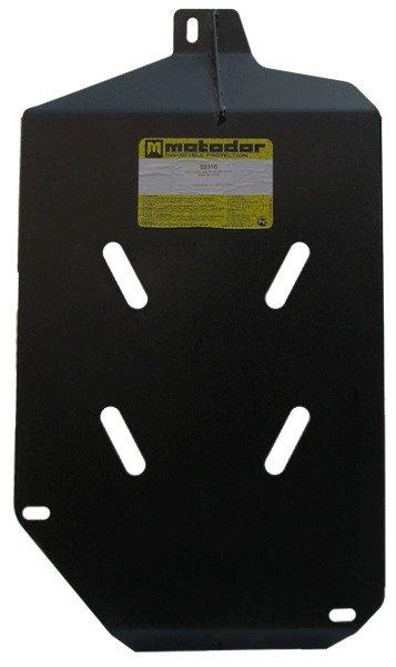 Защита бензобака Skoda Yeti 2009- V=1,8Ti (сталь 2 мм), MOTODOR02310