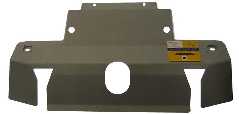 Защита радиатора, рулевых тяг Land Rover Discovery III 2004-2009 V=2,7TD; 4,0; 4,4(алюминий 5 мм), M