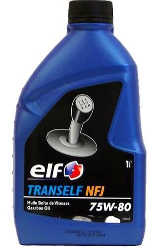 Масло трансмиссионное ELF TRANSELF NFJ 75W-80, 1л, 4098