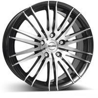 Колесный диск Enzo 106 dark 7x17/5x112 D70.1 ET40 черный полированный (BKF/P)