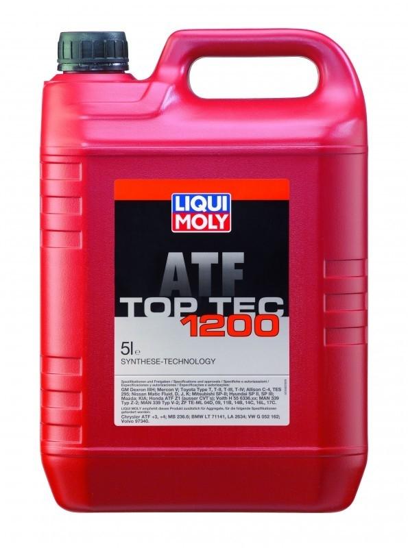 Трансмиссионное масло для АКПП Top Tec ATF 1200 (НС-синтетическое,5л)