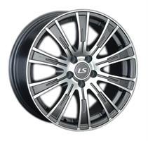 Колесный диск LS Wheels 311 6x15/4x114,3 D58.6 ET45 темно-серый полированный (GMF)