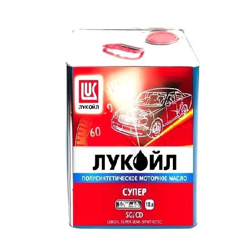 Моторное масло LUKOIL Супер, 10W-40, 18л, 218918