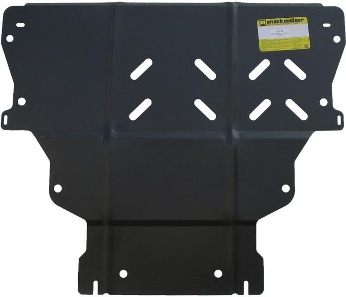Защита картера двигателя, КПП Ford Kuga 2013- V=1,6T, 2,5 (сталь 2 мм), MOTODOR00752