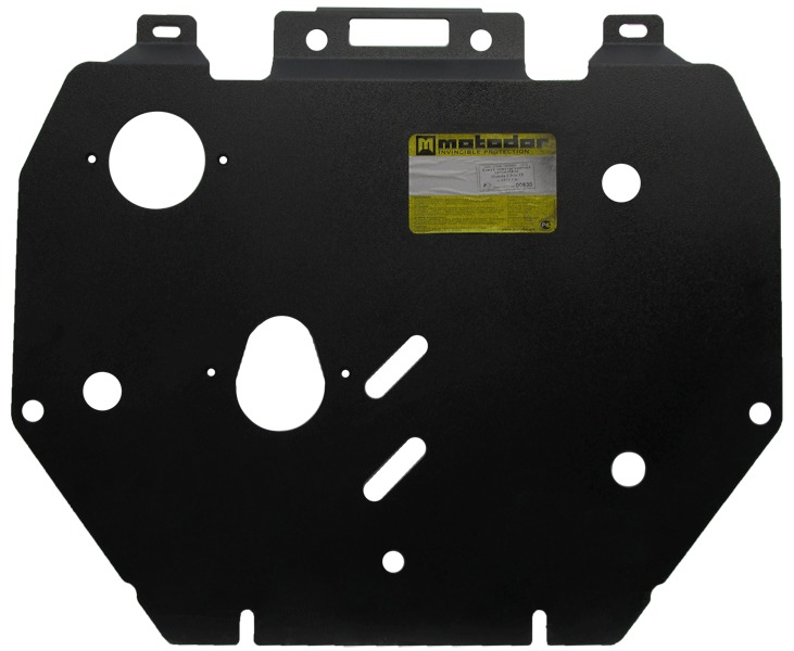Защита картера двигателя, КПП Honda Civic 4D IX 2012- V=1,8i (сталь 2 мм), MOTODOR00830