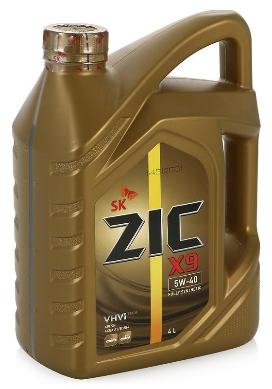 Моторное масло ZIC X3000, 15W-40, 6л, 172600