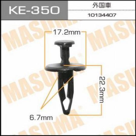 Клипса автомобильная (автокрепеж) MASUMA, KE350